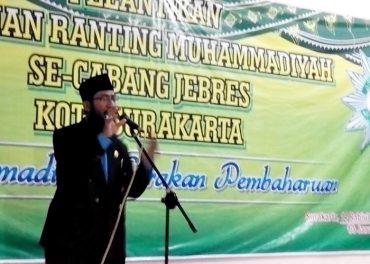 Pelantikan Pengurus Muhammadiyah Jebres