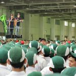 Marc Marquez dan Dani Pedrosa Kunjungi Pabrik AHM Karawang