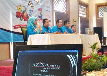 Puncak Milad ke 3 Aziza Hotel Gelar Rally