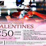 De Laxton Hotel Jogja Tawarkan Romantic Dinner Valentine