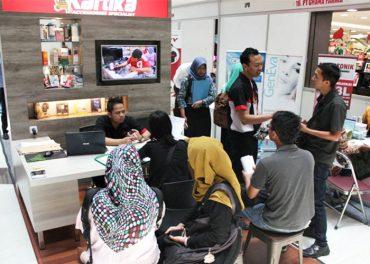 Puluhan Perusahaan Ikuti Job Fair di Harmal Solo Baru