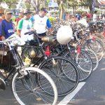 2.500 Onthelis Kumpul di Kota Solo