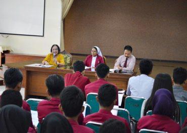 UPT BK Gelar Diskusi Etika Kehidupan Kampus
