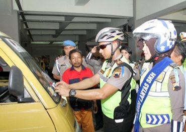 Operasi Simpatik Sukoharjo Temukan 3.481 Kasus Langgar Lantas