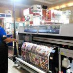 Workshop Digital Printing Textile & Digital to Garment Meriahkan IAPE 2017