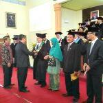 Prof Ali Mursyid Dilantik Rektor Univet Saat Dies Natalis ke49