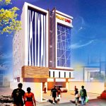 Front One Inn Semarang Tahap Topping Off