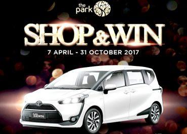 The Park Mall Hadirkan Shop & Win