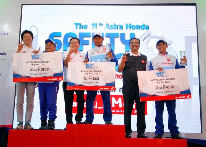 Instruktur Safety Riding Honda Jateng Wakili Indonesia di Jepang