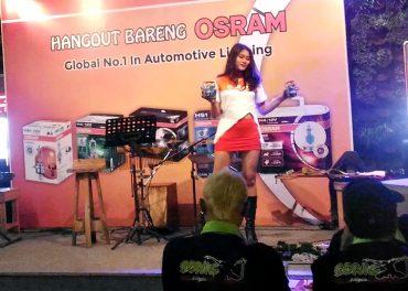 Sosialisasikan Produk Osram Hangout Bareng Komunitas Otomotif