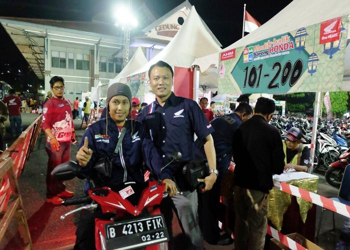 849 Pemudik Tiba di Astra Motor Semarang