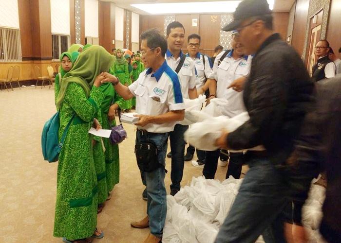 IMBI Surakarta Ajak 105 Anak Yatim Buka Puasa Bareng