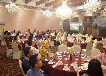 Aziza Hotel Halal Bihalal Dengan Loyal Customer