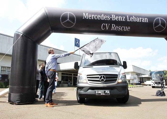 Layanan Lebaran Rescue 2017 Tunjukkan Kehandalan Mercedes Benz