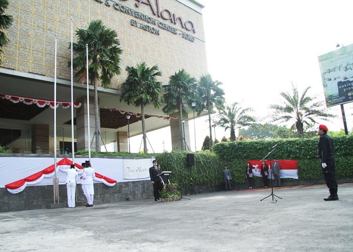 Peringati Hari Kemerdekaan, Alana Solo Gelar Upacara Bendera