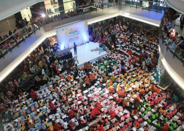 Festival Mewarnai Bunda PAUD Sukoharjo di Hartono Mall