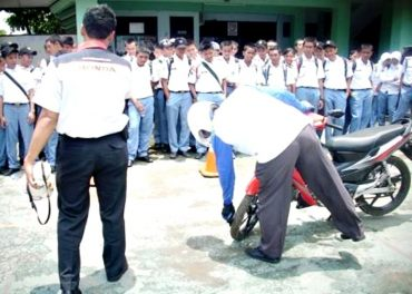 Honda Jateng Targetkan 72 Honda Safety Culture School (HSCS)