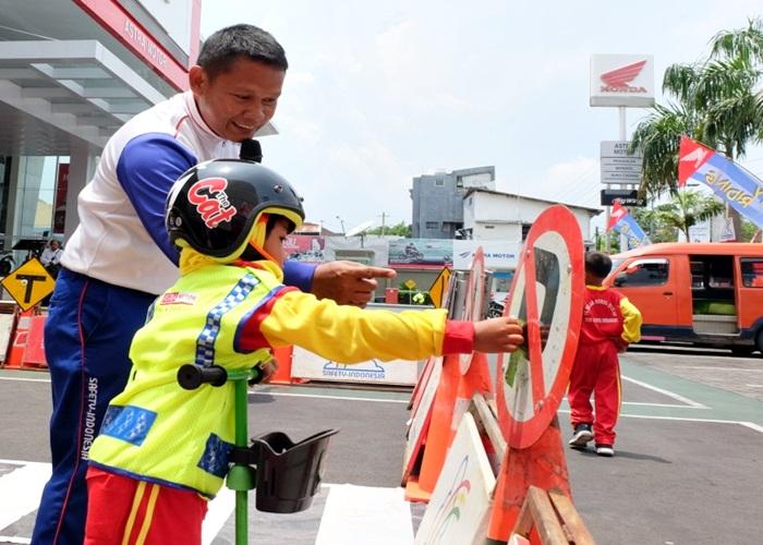 Astra Motor Jateng Edukasi Safety Riding Pada Anak Usia Dini