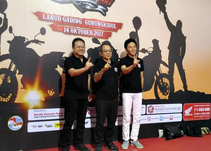 32.964 Bikers Honda Bersatu di HBD 2017