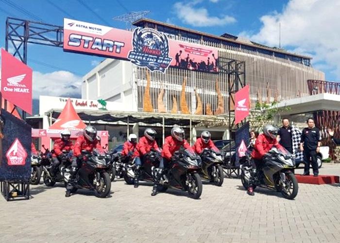Jajal All New Honda CBR250RR Jurnalis Nge-Gas Bareng 'Pentholan' Honda ke HBD 2017