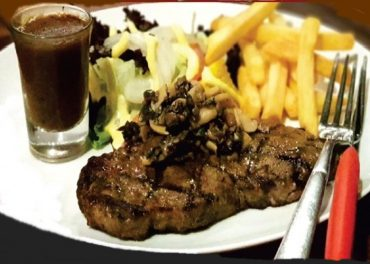 VIP Steak Black Angus di Hello Cow Resto