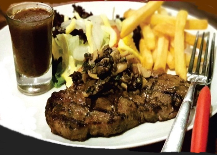 VIP Steak Black Angus di Hello Cow Resto