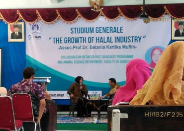 Ini Kuliah Umum UNIBA Surakarta, The Growth of Halal Industry