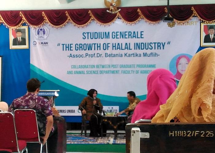 Ini Kuliah Umum UNIBA Surakarta, The Growth of Halal Industry