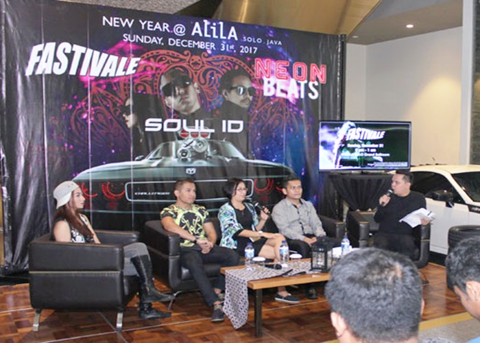 Alila Hotel Solo Gelar Festivale di Malam Tahun Baru 2018