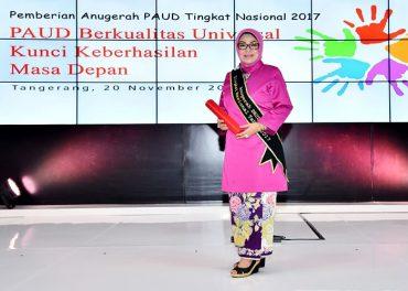 Bunda PAUD Sukoharjo Terima Anugerah PAUD Nasional
