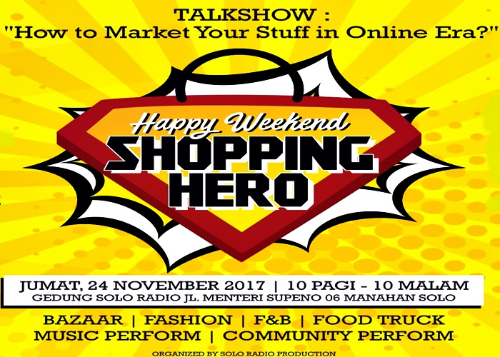 """Shopping Hero"" Solo Radio"