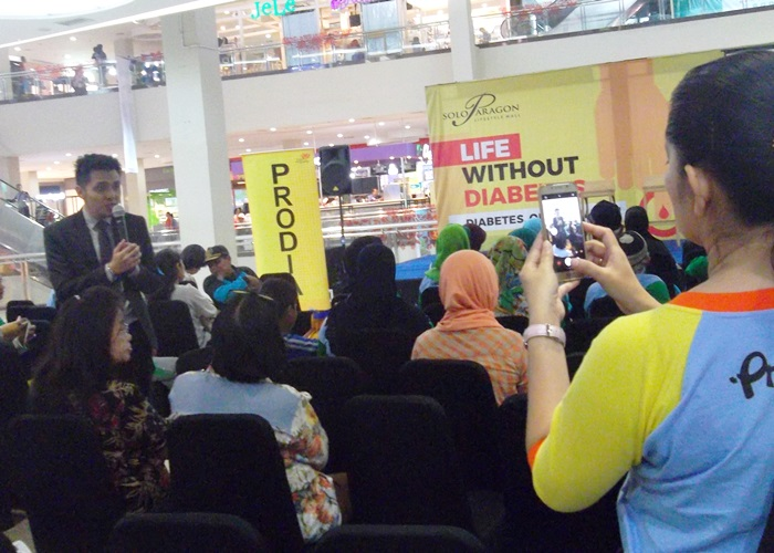 Life Without Diabetes Solo Paragon Mal Gandeng Prodia
