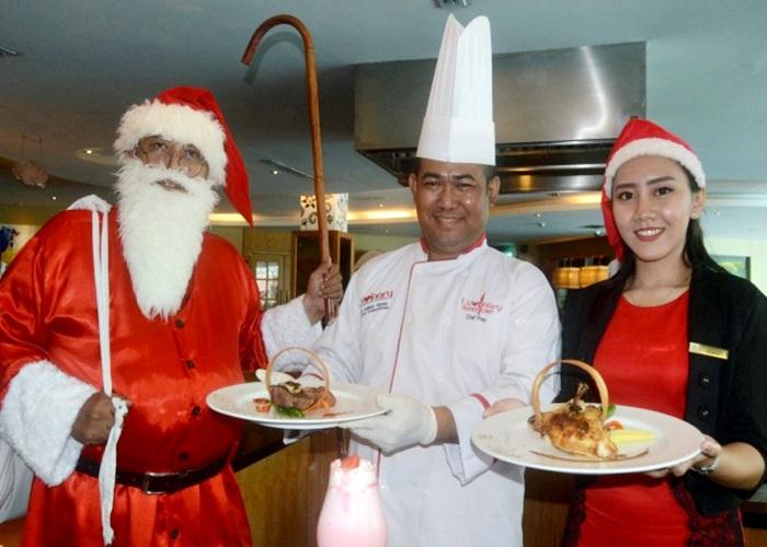 Wonderfull Christmas Set Menu Dinner di Sunan Hotel Solo