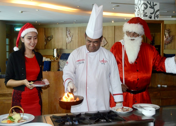 The Sunan Hotel Gelar GLory Land Year End Party