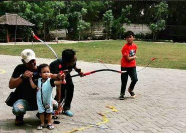 Yuk,  Bermain Archery Di Hotel Harper Purwakarta