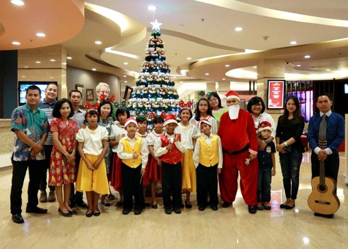 Solo Paragon Hotel Rayakan Natal Bersama Anak Panti