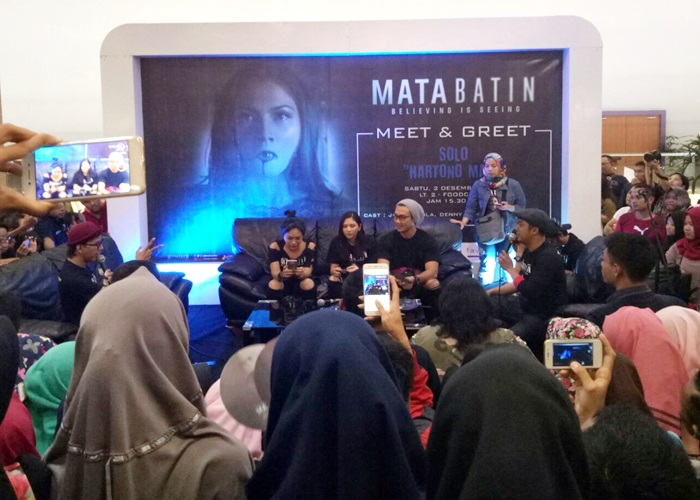Artis 'Mata Batin' Meet and Greet di Hartono Mall