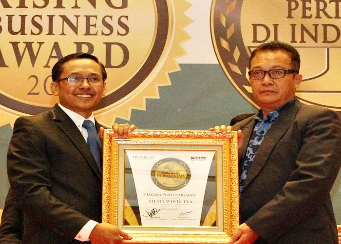 Pertama Di Indonesia, Fiesta White Tea Raih Penghargaan