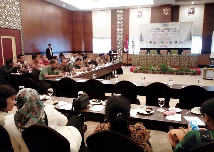 Refleksi Peradi: Hukum Di Indonesia Penuh Intervensi