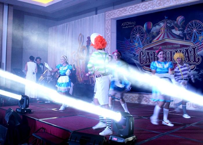 Carnival Night di Aston Solo Hotel Jelang Akhir Tahun