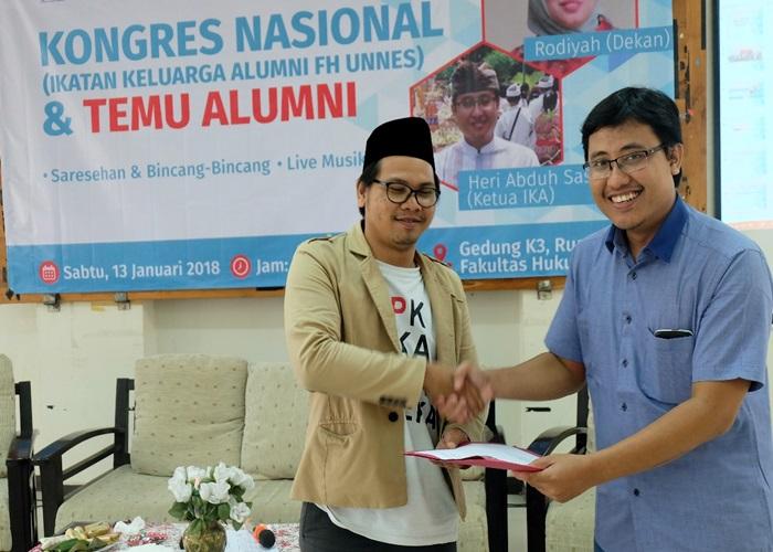 Muhtar Said Pimpin Alumni FH Unnes