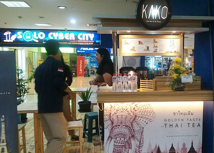 Kako Thai Tea  Penguatan Pasar di Solo Grand Mall