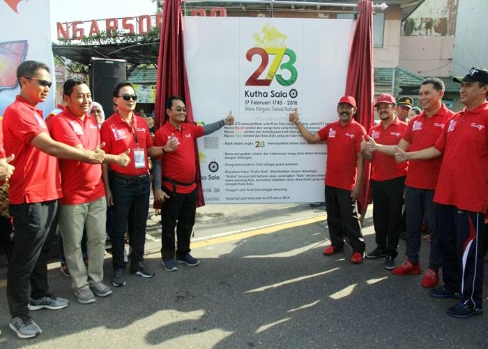 Pembukaan SGS 2018 Bareng Launching Logo 273 Kota Solo