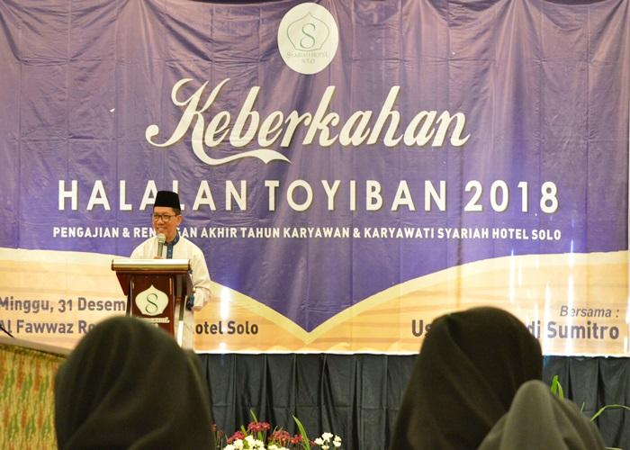 Sambut 2018, Syariah Hotel Solo Bermuhasabah