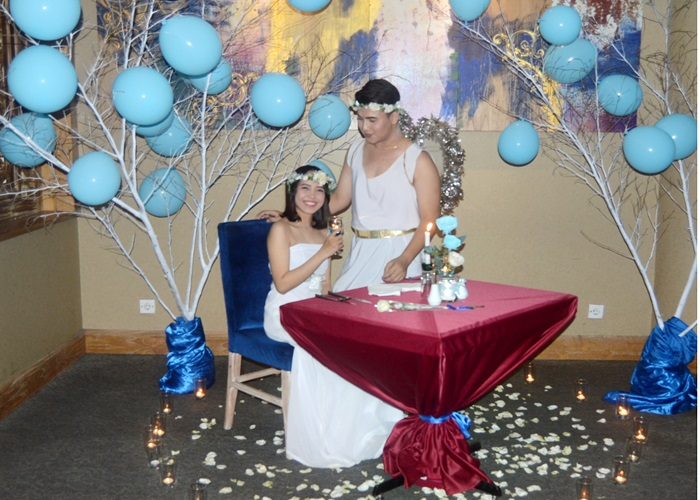Blue Valentine Glory Love di Sunan Hotel Solo