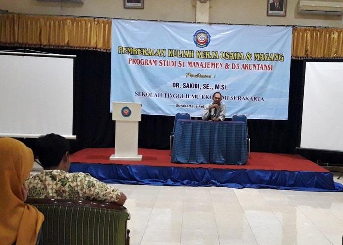 STIE Surakarta Bekali Mahasiswa Magang