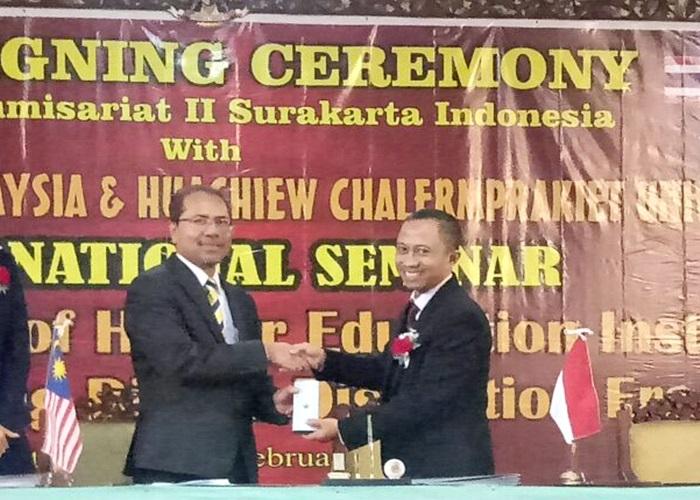 STIE Surakarta Tanda Tangani MoU dengan Universitas Kuala Lumpur