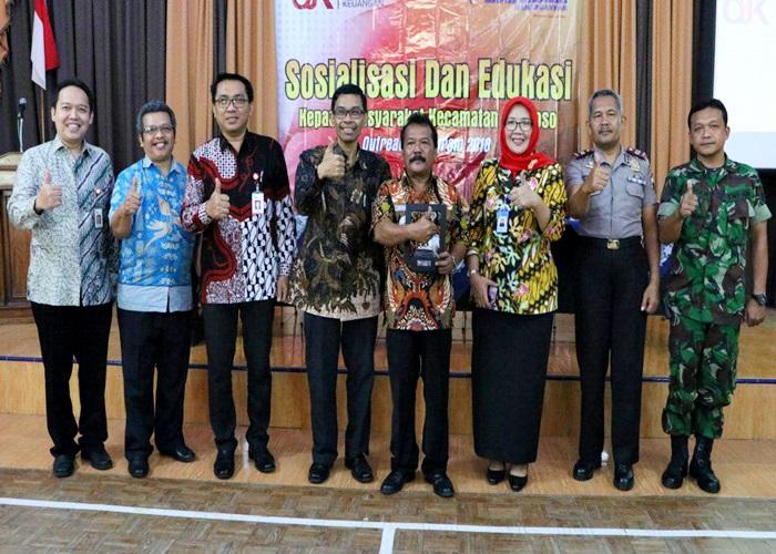 OJK Gandeng Bank Daerah Karanganyar Sosialisasi dan Edukasi Waspada Investasi