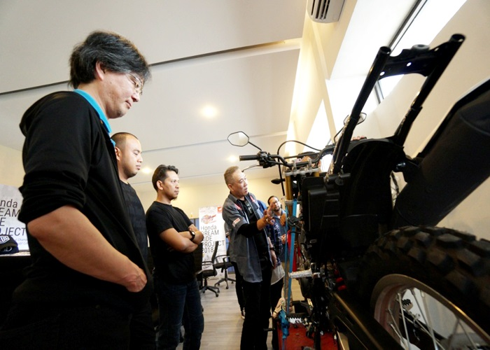 Ajang Modifikator Handal Honda Dream Ride Project