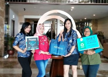 #Connect2earth Bentuk Aston Solo Hotel Peduli Lingkungan